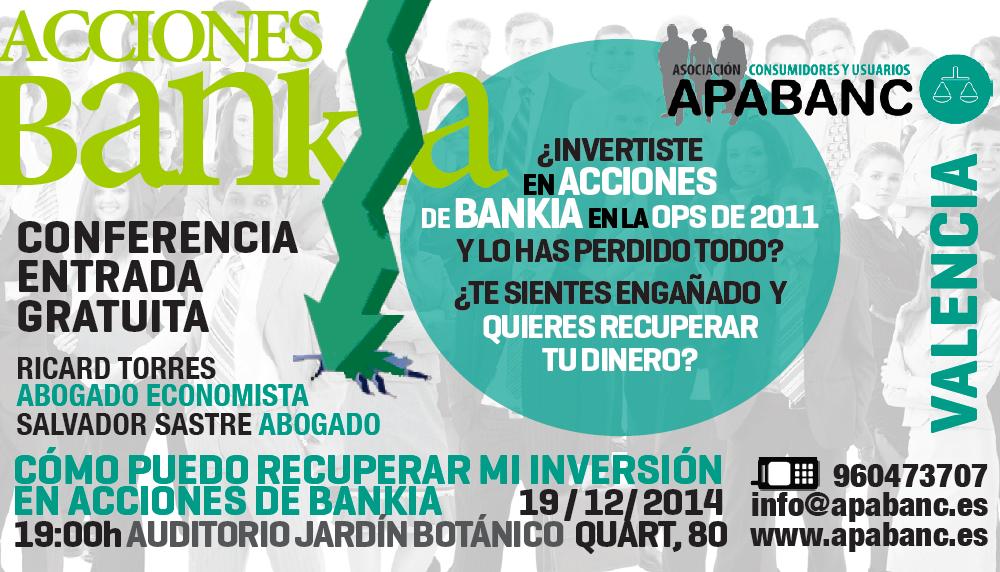 CONFERENCIA APABANC ACCIONES BANKIA