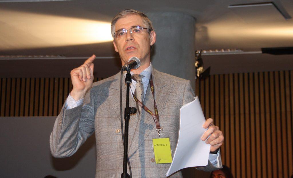 RICARD TORRES EN JUNTA BANKIA 2014